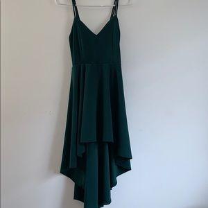 Dark green Windsor party dress